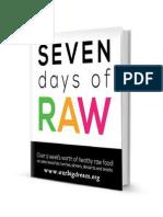 7 Days of Raw - Pinder, Jillian