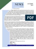 October 2015 UC Newsletter