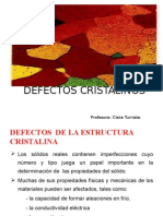 Defectos Cristalinos 2015 1