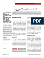 Pharmacological Therapy for Acute Spinal Cord.9