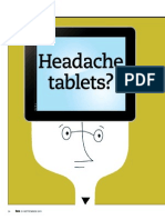 Headache tablets?