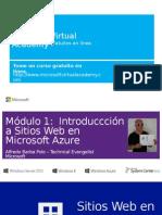 Mod 1 Inroducción a Los Sitios Web en Azure - ABARBA
