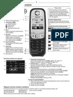 Gigaset AS405 Manual