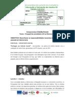 CP 1 Fich. Trab. n.º 6 - O Papel Da Sociedade Civil Na Democracia