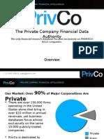 PrivCo Overview Presentation