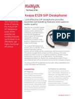E129 SIP Deskphone-SME7492