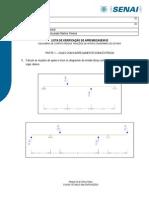 Lista de Verificação de Aprendizagem 02 - Reações de Apoio e Diagramas Fc e Mf