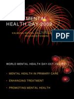 World Mental Health Day 2009 - KAMHA.ORG