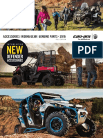 Can Am Off Road 2016 Accesories Catalog