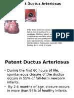 Persisten Duktus Arteriosus Ppt