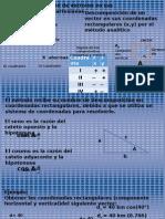 Fisica 6 Vect Metodo Analitico
