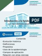 Clase 1 Introducción Epidemiología 2015 I Mañana