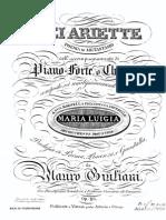 [Free Scores.com] Giuliani Mauro Sei Ariette 64219