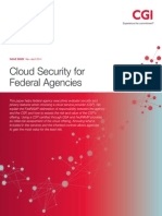 Cgi Cloud Security Federal Agencies