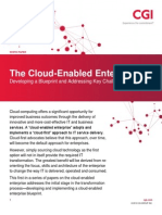 The Cloud-Enabled Enterprise - Developing a Blueprint and Addressing Key Challenges