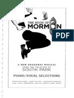 241585512 141786207 Book of Mormon Piano Vocal Score