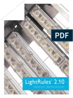 LightRules 2.10 Specifications