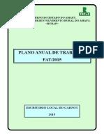 Plano Anual de Trabalho - Carnot 2015(1)