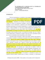 AS TECNOLOGIAS DA INFORMAÇÃO E COMUNICAÇÃO NA CONSTRUÇÃO DO SENTIDO DE LUGAR DOS JOVENS DA ROCINHA
