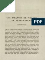 RV09884 1939 Sep. Los Infantes de Aragón en Extremadura. Duarte Insua