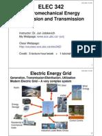 Module 1 of Elec 342 - UBC