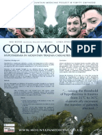 Hypothermia in Mountain Casualties from Snowdonia