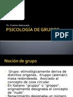 clase 1, psicolog+¡a de grupos