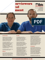 Peer Interviewers in Medical Recruitment
