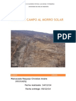 Salida de Campo Al Morro Solar