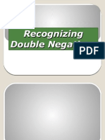 Recognizing Double Negatives