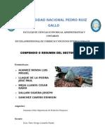 COMPENDIO O RESUMEN DEL SECTOR PESCA