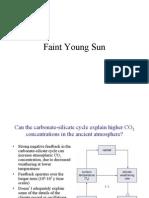 Faint Young Sun