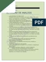 Actividad de Analisis de Mediacion Pedagogica