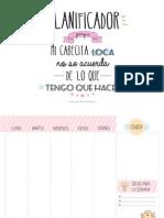 PlanificadorImprimible Blog
