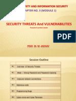 Security Threats Mmj