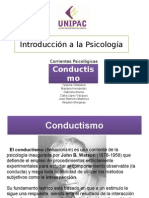 Corriente Psicologica Conductista