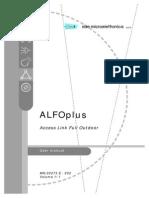 ALFOplus User Manual - MN.00273.e ED2