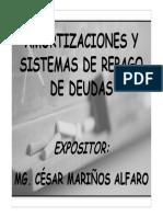 Sesión 12 Sistemas de Repago de Deudas