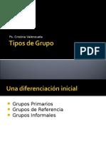 Clase 5, Tipos de Grupo y Rendimiento Grupal