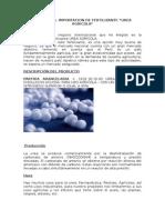 Importación de Urea Agrícola