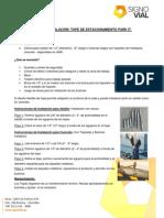 Guía de Instalación Topes de Estacionamiento - Signo Vial