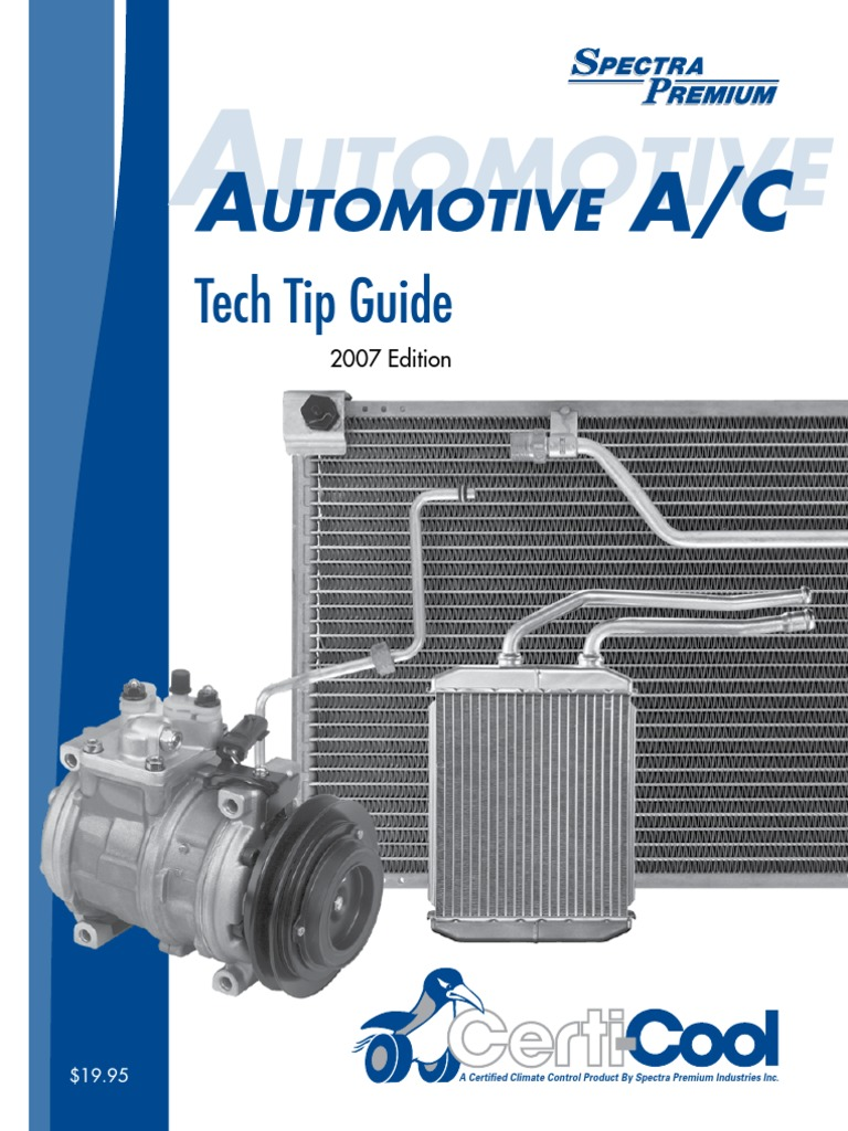 Automotive Techtip Eng 2007 Heat Exchanger Air Conditioning Samurai Alternator Wiring Diagram On Centrifugal Fan