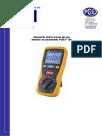 Manual Pce It100