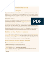 Drug Addiction in Malaysia