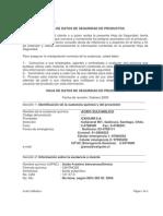 Msds Acido Sulfanilico Ga