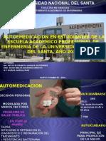 AUTOMEDICACION EN ESTUDIANTES DE ENFERMERIA