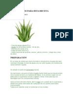 Crema Aloe