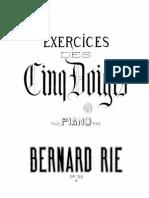 IMSLP288580-PMLP468646-BRie Exercices Des Cinq Doigts Op.32