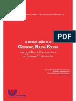 Livro Etnia, Diversidade e Formação