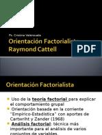 Clase 11, Orientación Factorialista
